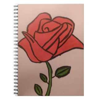 A Rose Notebook