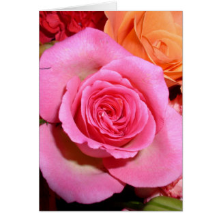 A Rose of Thanks! Card