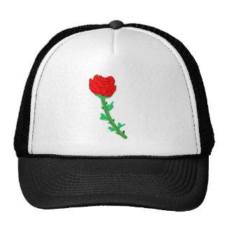 a-rose trucker hat