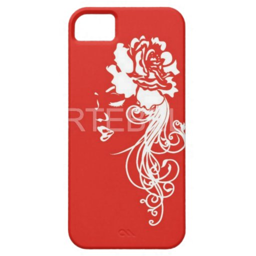 a rosy iphone  case-mate iPhone 5 cover