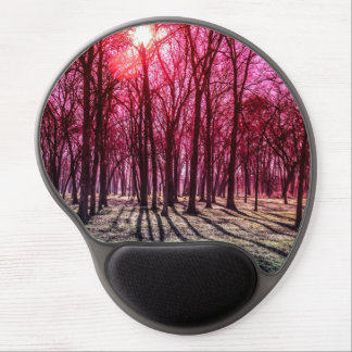 A Rosy Morning Gel Mouse Pad