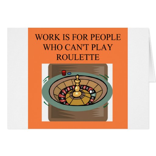 a roulette player's delight card