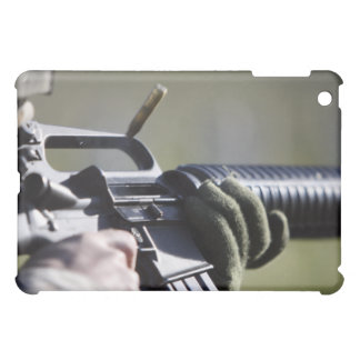 A round flies from the chamber of an M-16A2 Case For The iPad Mini
