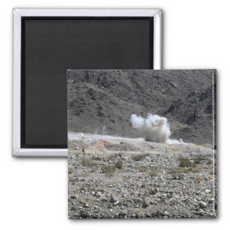 A round from an AT-4 small rocket launcher Fridge Magnet