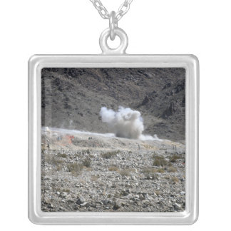 A round from an AT-4 small rocket launcher Custom Necklace