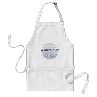A Round Tuit Adult Apron
