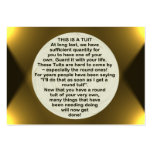 A Round Tuit ~ ATC Business Card Template