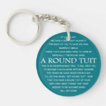 A Round Tuit Double-Sided Round Acrylic Keychain