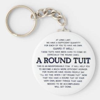 A Round Tuit Keychain