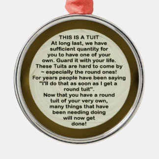 A Round Tuit ~ ornament