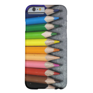 A Row of Colored Pencils. Barely There iPhone 6 Case