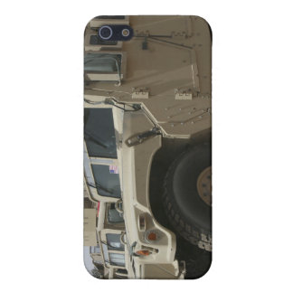 A row of humvees from Task Force Military Polic Cover For iPhone SE/5/5s