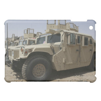 A row of humvees from Task Force Military Polic iPad Mini Cases