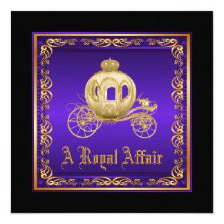 A Royal Affair Prom Card