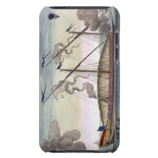 A Royal Galley (Spanish or Portuguese) rowed by sl iPod Case-Mate Case