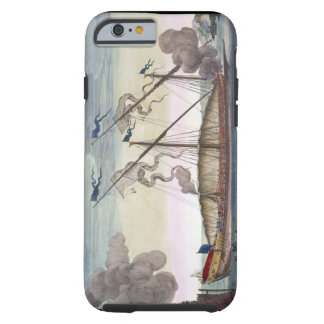A Royal Galley (Spanish or Portuguese) rowed by sl Tough iPhone 6 Case