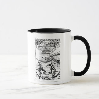 A Royal Game of Tennis in the Jeu de Paume Mug