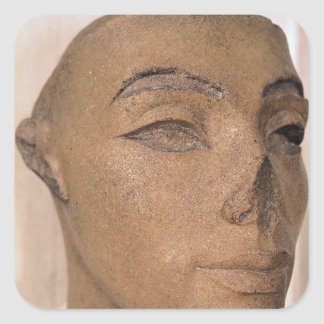 A royal head, possibly of Nefertiti, from Square Sticker