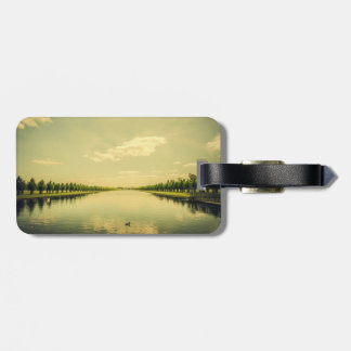 A Royal Long Lake Luggage Tag