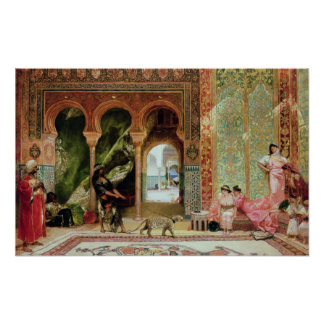 A Royal Palace in Morocco Poster
