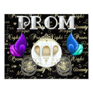 A Royal PROM Party - SRF 4.25x5.5 Paper Invitation Card