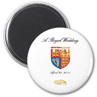 A Royal Wedding 2 Inch Round Magnet