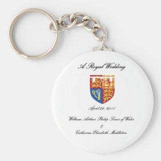 A Royal Wedding Key Chain