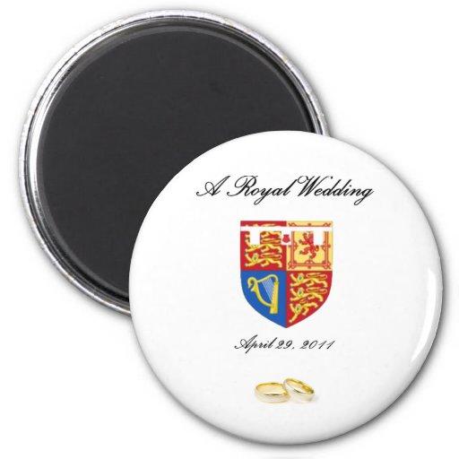 A Royal Wedding Refrigerator Magnet