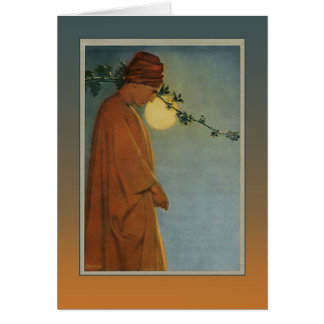A RUBY KINDLES IN THE VINE from The Rubaiyat Card