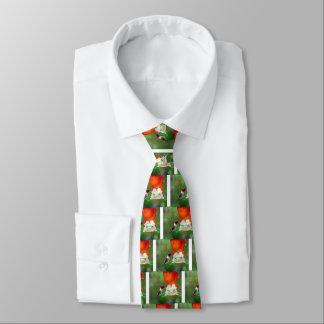 A Ruby Throated Hummingbird Tie