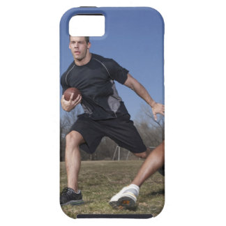 A running play during a touch football game. iPhone SE/5/5s case