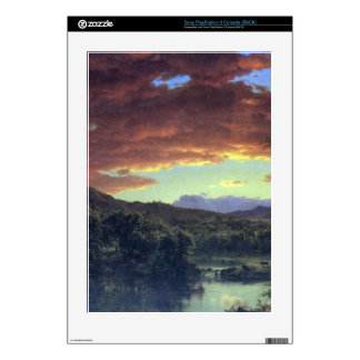 A rural home by Frederic Edwin Church PS3 Decal