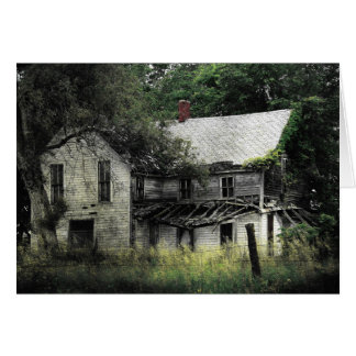 A Rural Missouri Abandoned House Card