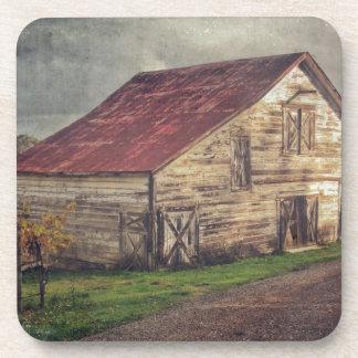 A Rustic Barn Coasters