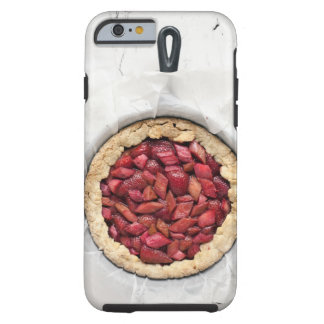 A rustic, homemade tart filled with fresh tough iPhone 6 case