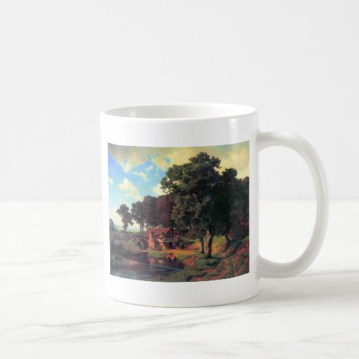 A rustic mill by Bierstadt Coffee Mug