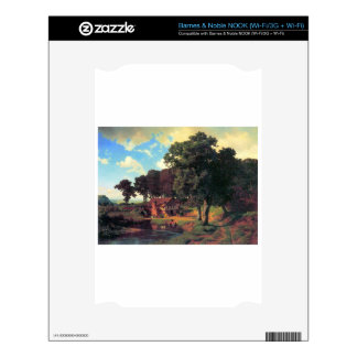 A rustic mill by Bierstadt Decal For The NOOK