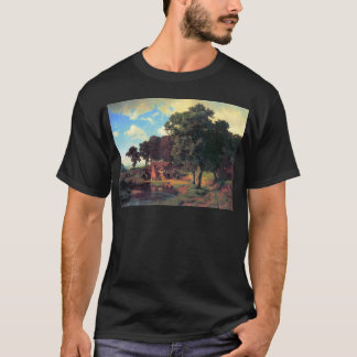 A rustic mill by Bierstadt T-Shirt