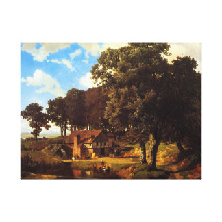 A Rustic Mill. Canvas Print