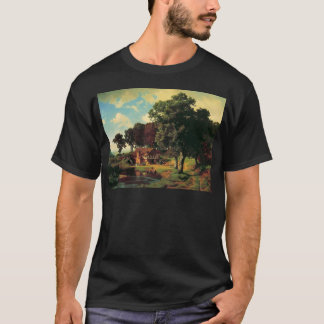 A Rusty Mill by Bierstadt Albert T-Shirt