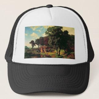 A Rusty Mill by Bierstadt Albert Trucker Hat
