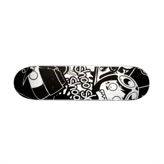 A.S.D Pattern Skateboard Deck