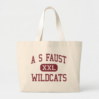 A S Faust - Wildcats - Middle - East Rutherford Tote Bags