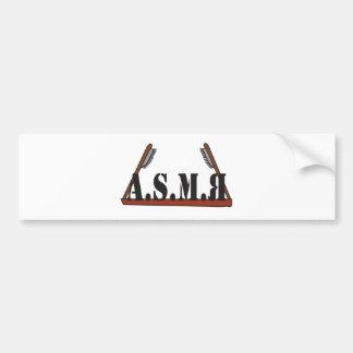 A.S.M.R BUMPER STICKER