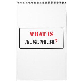 A.S.M.R y una mezcla de mi otro calendario de los
