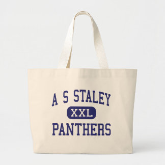 A S Staley Panthers Middle Americus Georgia Canvas Bag