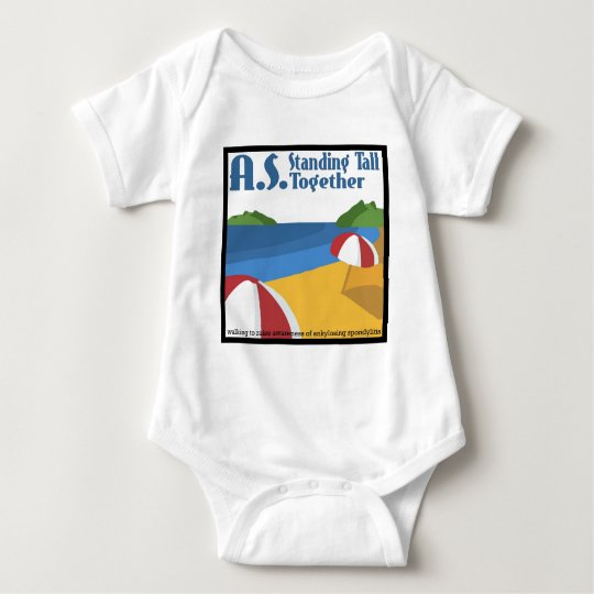 A.S. Standing Tall Together Baby Bodysuit