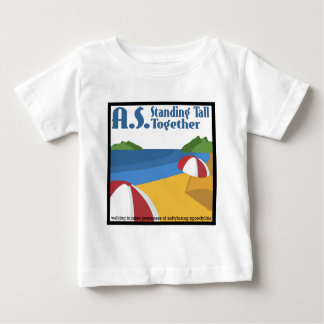 A.S. Standing Tall Together Baby T-Shirt