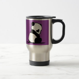 A Sad Panda 15 Oz Stainless Steel Travel Mug