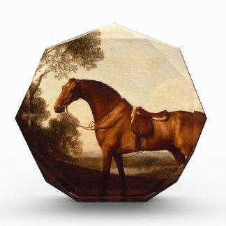 A Saddled Bay Hunter by George Stubbs Acrylic Award